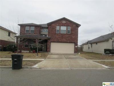 Killeen TX Single Family Home For Sale: $169,500