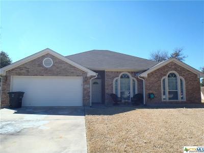 Killeen TX Single Family Home For Sale: $176,000