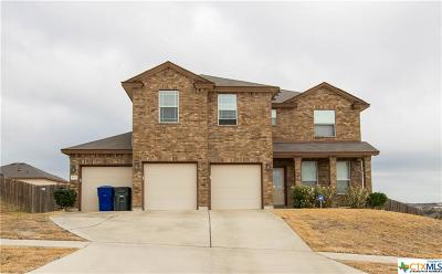Copperas Cove TX Single Family Home For Sale: $194,000