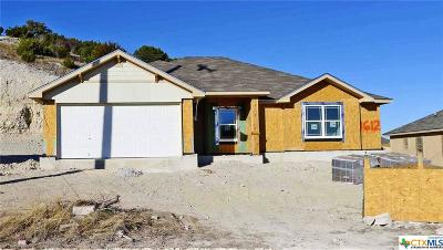 Copperas Cove Single Family Home For Sale: 1612 Cline Drive