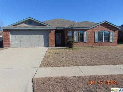 Killeen TX Single Family Home For Sale: $111,000
