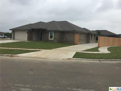 Copperas Cove Single Family Home For Sale: 3512 Moline Circle