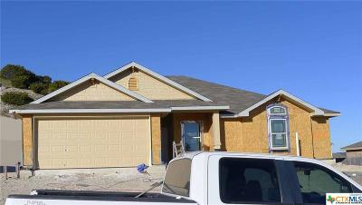 Copperas Cove Single Family Home For Sale: 1608 Cline Drive