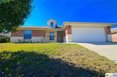 Copperas Cove Single Family Home For Sale: 1711 Indian Camp Trail