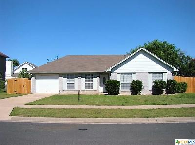 Killeen TX Single Family Home Pending: $110,000