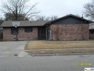 Killeen Single Family Home For Sale: 1204 Mertopolitan Drive