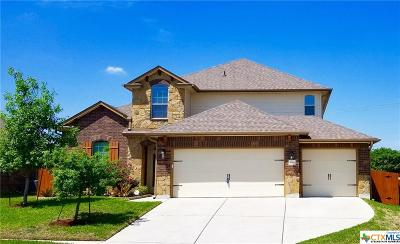 Killeen Single Family Home For Sale: 5501 Red Pine