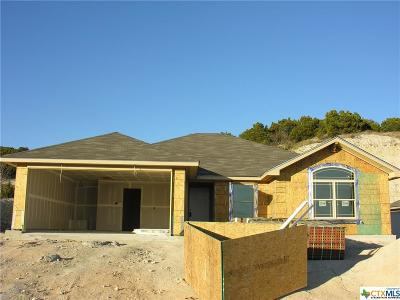 Copperas Cove Single Family Home For Sale: 1712 Cline Drive