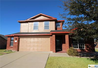 Killeen TX Single Family Home For Sale: $187,500