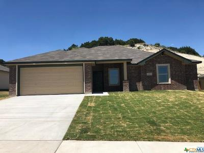 Copperas Cove Single Family Home For Sale: 1708 Cline Drive