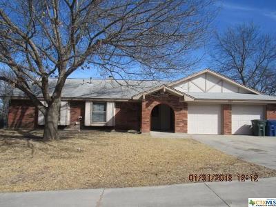 Copperas Cove Single Family Home For Sale: 1609 Robertson Avenue