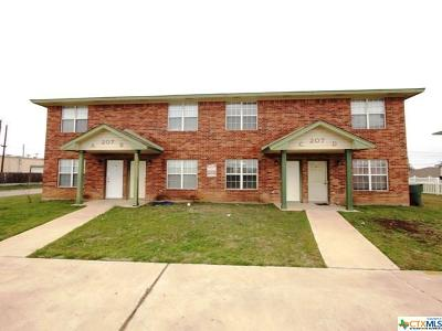 Killeen Multi Family Home For Sale: 207 Lydia