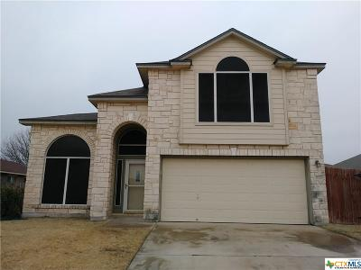 Killeen Single Family Home For Sale: 5303 Barkey Court