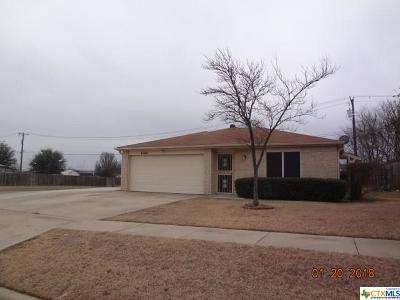 Killeen Single Family Home For Sale: 4500 Stallion Drive
