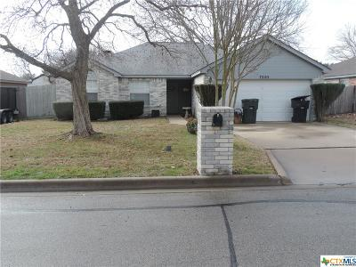 Temple Single Family Home For Sale: 7205 Klein Drive