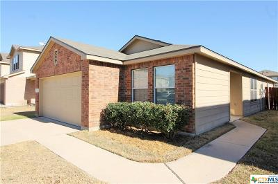 Killeen TX Single Family Home For Sale: $119,900