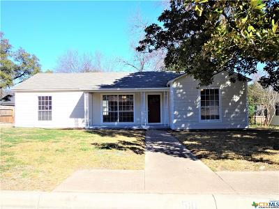 Temple TX Single Family Home For Sale: $133,900