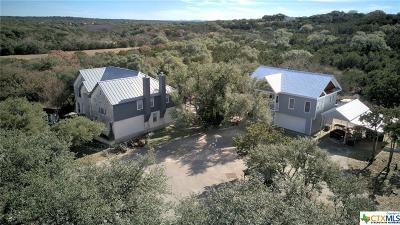 Comal County Single Family Home For Sale: 2 Watson Way