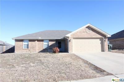 Killeen TX Single Family Home For Sale: $124,900
