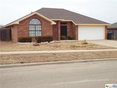 Killeen TX Single Family Home For Sale: $110,000