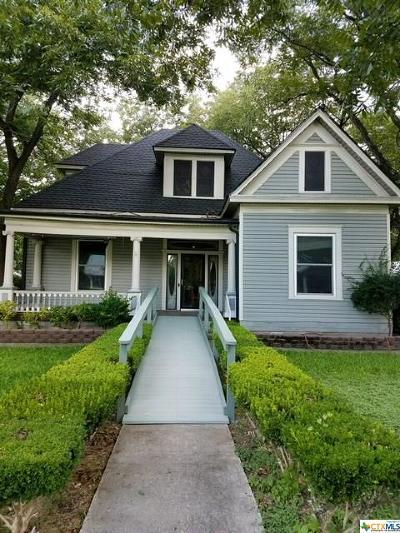Lampasas Single Family Home For Sale: 508 S Walnut