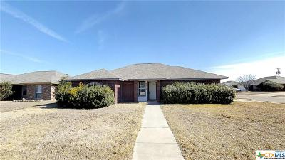 Killeen Single Family Home For Sale: 3614 Julia Ln