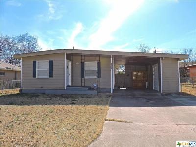 Killeen Single Family Home For Sale: 806 Dunn Circle