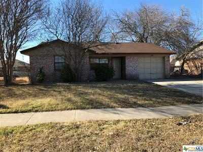 Killeen Single Family Home For Sale: 3908 Pilgram