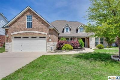 Temple Single Family Home For Sale: 410 Wyndham Hill Parkway