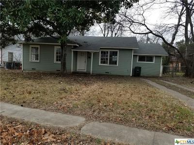 Killeen Single Family Home For Sale: 510 Blake