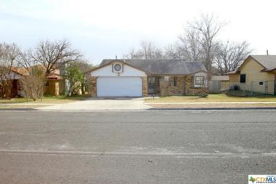 Copperas Cove Single Family Home For Sale: 110 Bridle