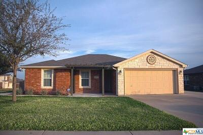 Copperas Cove Single Family Home Pending Take Backups: 1323 Dixon Circle