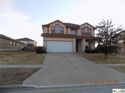 Killeen Single Family Home For Sale: 5410 Bridgewood
