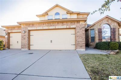 Killeen Single Family Home For Sale: 6803 Bayberry