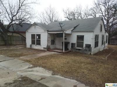 Temple Single Family Home For Sale: 808 Barton Avenue
