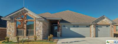 Killeen Single Family Home For Sale: 7705 Zircon Drive