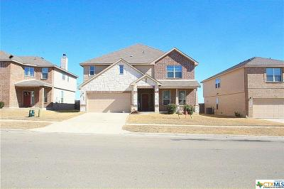 Killeen Single Family Home For Sale: 9204 Bowfield