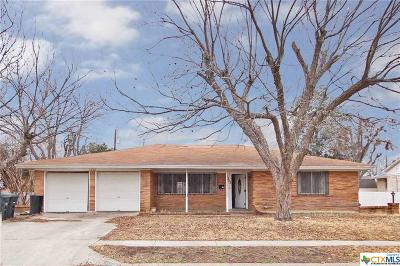 Killeen Single Family Home For Sale: 1302 Pine Drive