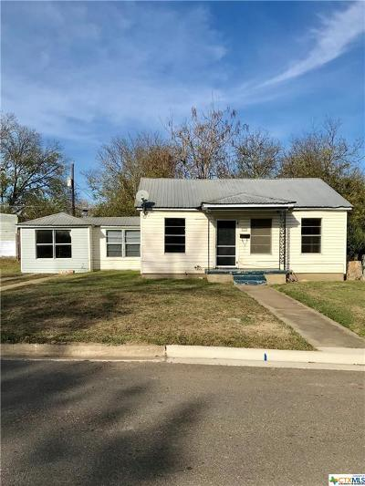 Temple Single Family Home For Sale: 1432 Avenue C