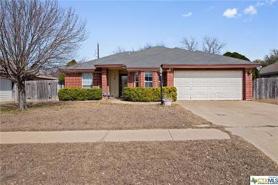Killeen Single Family Home For Sale: 3605 Warfield Drive