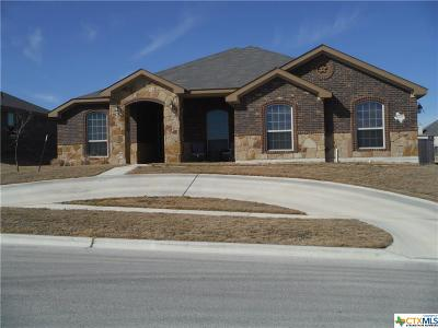 Killeen Single Family Home For Sale: 6209 Newcastle Drive