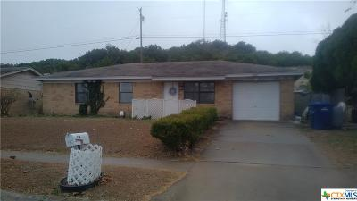 Copperas Cove Single Family Home For Sale: 714 N 19th
