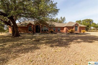Salado Single Family Home For Sale: 1824 Mission Trail
