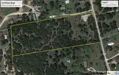 Copperas Cove Residential Lots & Land For Sale: 7.8 Acres County Road 4810