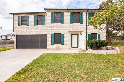 Killeen Single Family Home For Sale: 2707 Windmill Drive