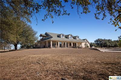 Salado Single Family Home For Sale: 15345 Cedar Valley Road
