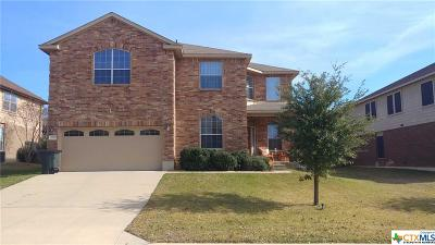 Harker Heights Single Family Home For Sale: 2607 White Moon