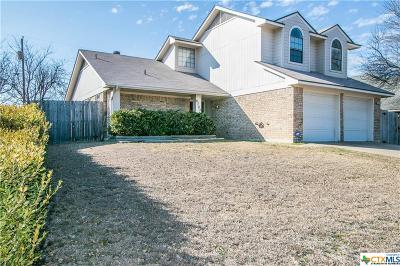 Killeen Single Family Home For Sale: 4703 Champion Drive