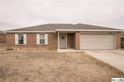 Killeen TX Single Family Home Pending: $109,900