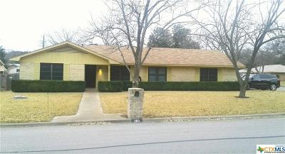 Temple Single Family Home Pending Take Backups: 101 Mitchell Drive